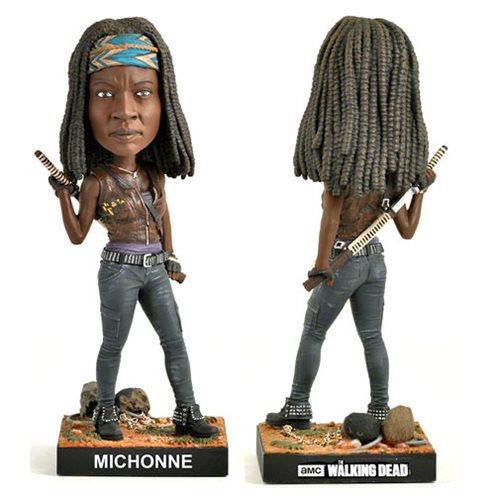 The Walking Dead Michonne Bobble Head