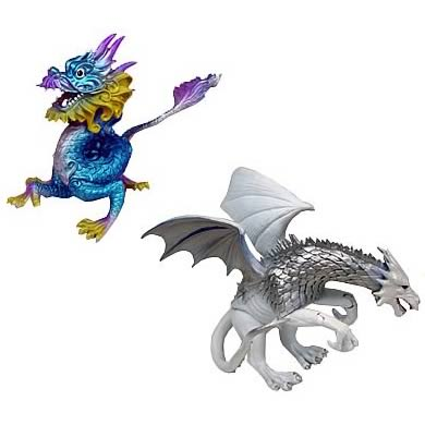 Dragonology Series 1 Action Figures Case