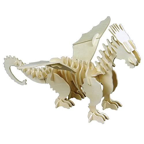 Dragonology Frost Dragon Wooden Construction Kit