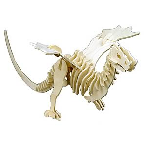 Dragonology Wyvern Dragon Wooden Construction Kit