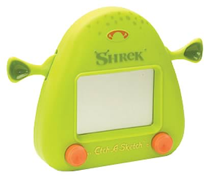 Shrek 2 Etch-A-Sketch