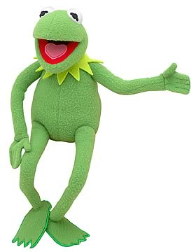 The Muppets Kermit 18-Inch Plush