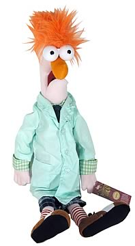 The Muppets Beaker 18-Inch Plush