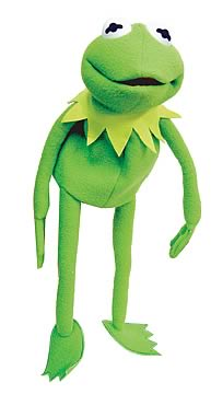 The Muppets: Kermit 20-inch Hand Puppet