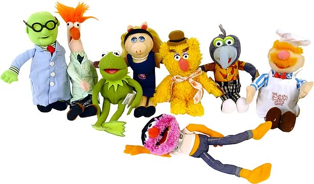 The Muppets Beanie Set