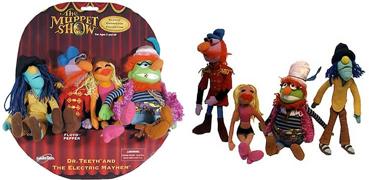 The Muppets: Electric Mayhem Plush Scene Stars