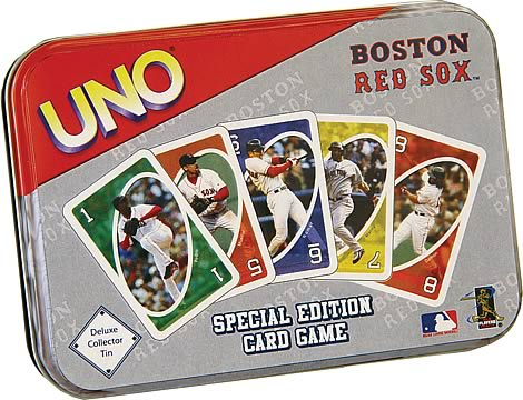 Boston Red Sox UNO