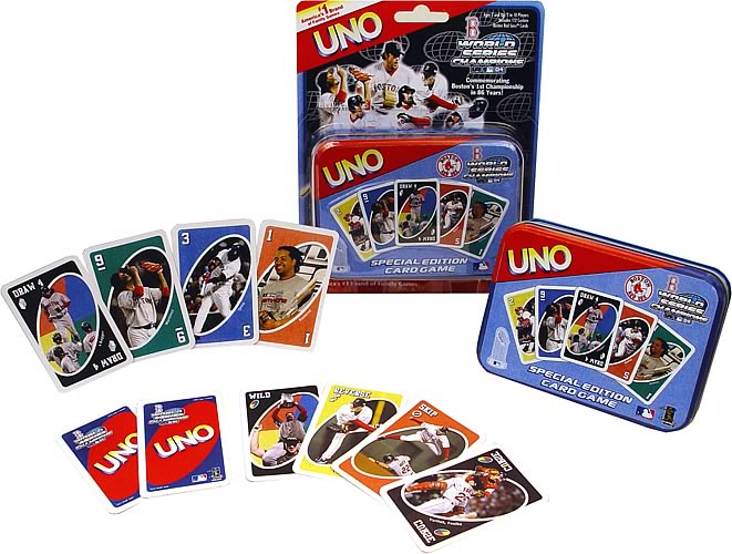 Boston Red Sox World Series Edition UNO