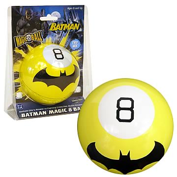 Batman Magic 8 Ball