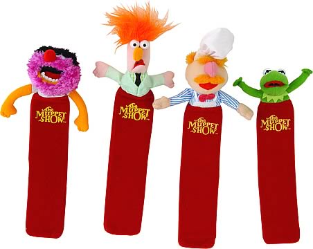The Muppets Bookmark Set