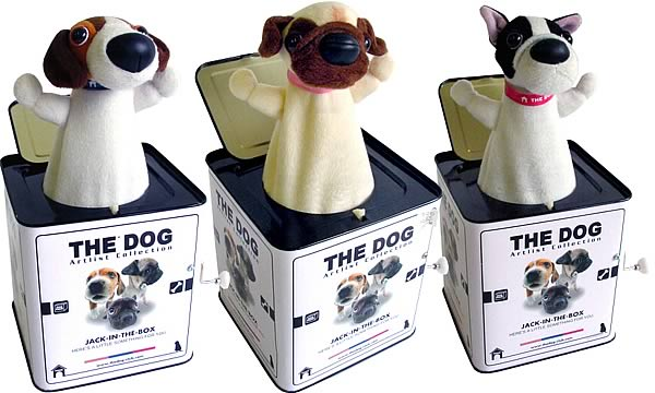 The Dog Jack-in-the-Box Set