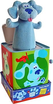 Blue's Clues Jack-in-the-Box