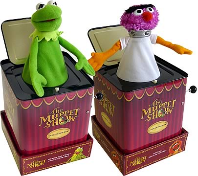 Muppets Jack-in-the-Box Set