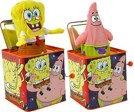 SpongeBob Jack-in-the-Box Case