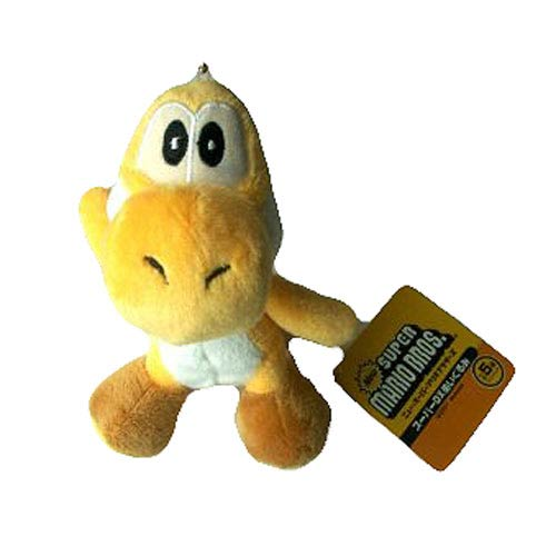 Super Mario Bros. Yellow Yoshi 5-Inch Plush Key Chain