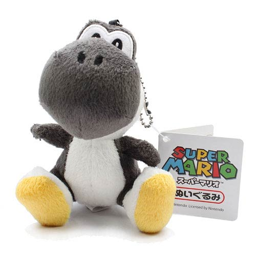 Super Mario Bros. Black Yoshi 5-Inch Plush Key Chain