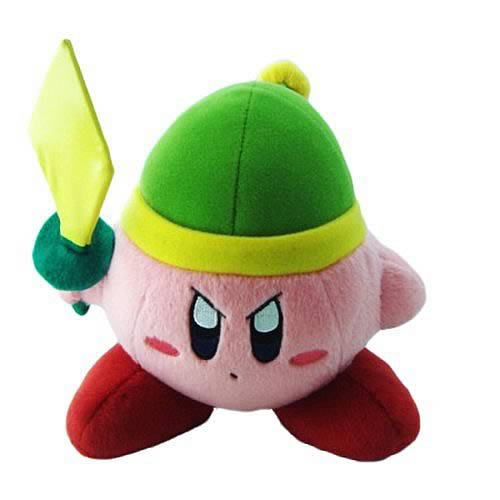 Kirby's Adventure Sword 6-Inch Plush