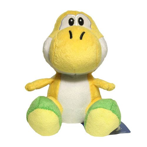 Super Mario Bros. Yellow Yoshi 6-Inch Plush
