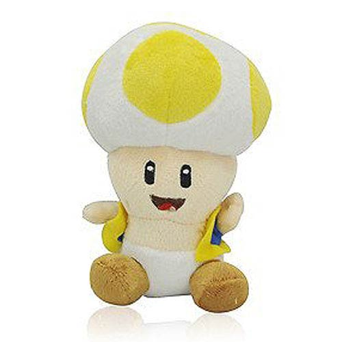 Super Mario Bros. Yellow Toad 7-Inch Plush