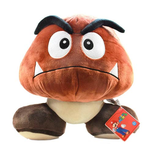 Super Mario Bros Goomba 12 Inch Plush Sanei Super