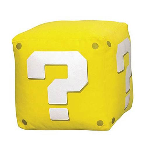 Super Mario Bros. Coin Box 5-Inch Plush