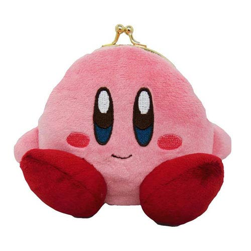 Kirby's Adventure Kirby Plush Coin Purse