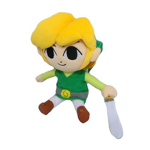 Legend of Zelda Phantom Hourglass Link 12-Inch Plush