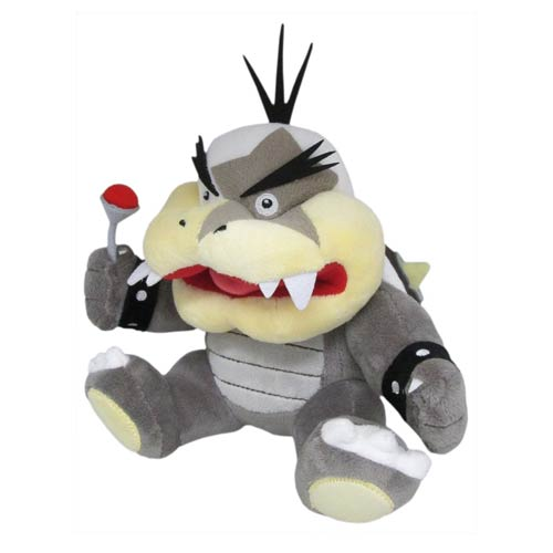 Super Mario Bros Morton Koopa 9 Inch Plush Sanei