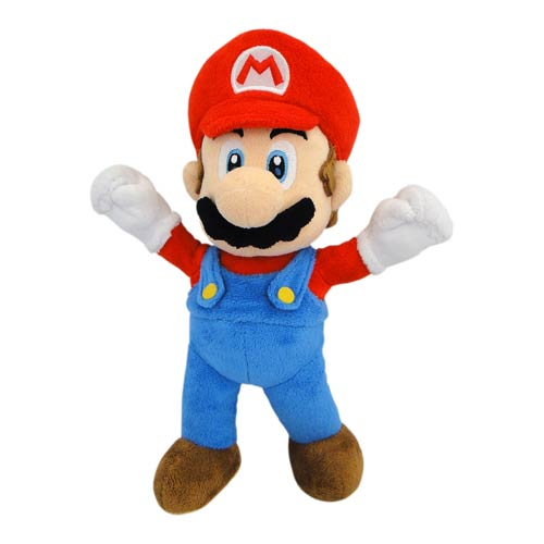 Super Mario Bros. Mario Bendable 10-Inch Plush