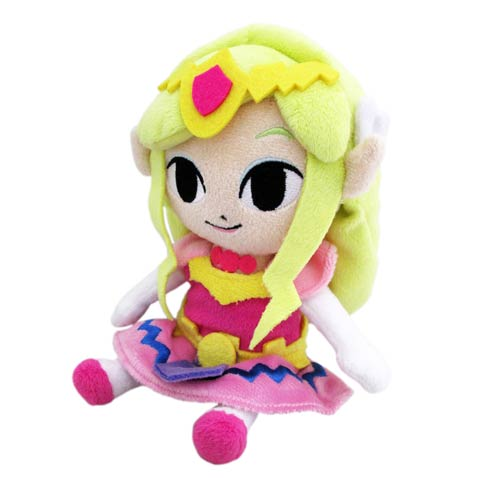 Legend of Zelda Wind Waker Princess Zelda 8-Inch Plush