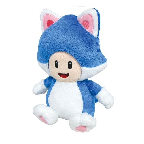 Super Mario Bros. Cat Toad 8-Inch Plush