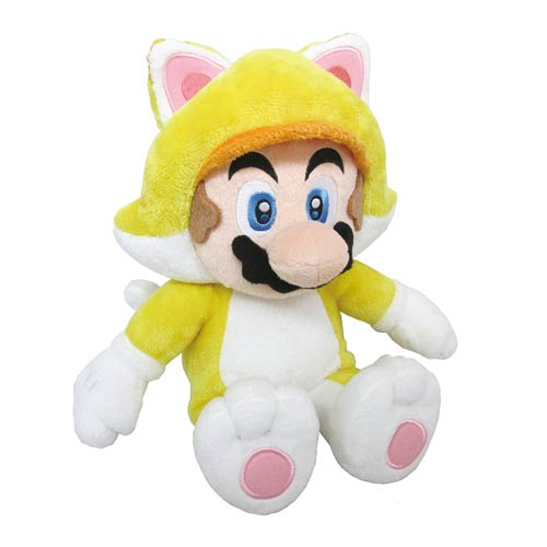 Super Mario Bros. Cat Mario 12-Inch Plush