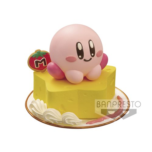 Kirby on Star Cake Paldolce Collection Vol.2 Statue