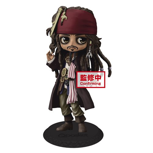 Pirates of the Caribbean Jack Sparrow Q Posket