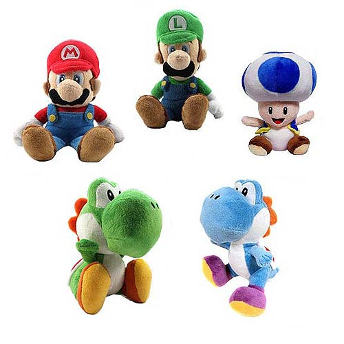 Super Mario Bros. 8-Inch Plush Case
