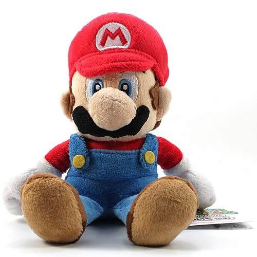 Super Mario Bros. Small Size Mario Plush Doll