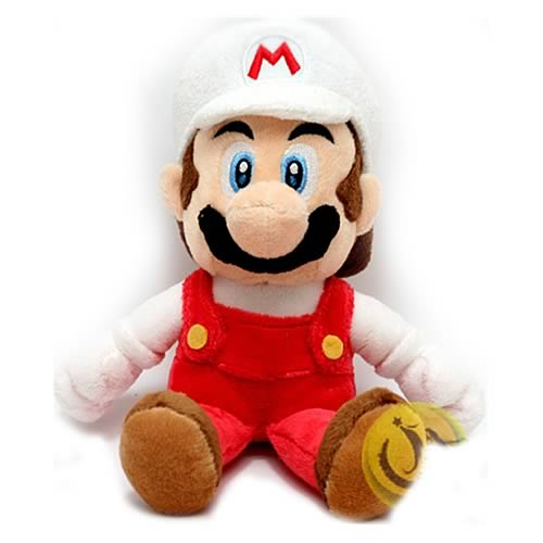 Super Mario Bros. 8-Inch Fire Mario Plush