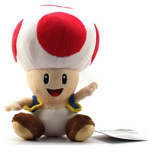 Super Mario Bros. 7-Inch Toad Plush