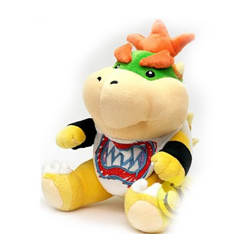 Super Mario Bros. 7-Inch Bowser  Jr. Plush
