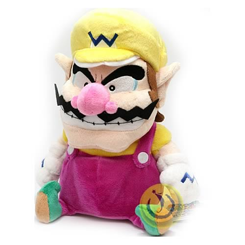 Super Mario Bros. 9-Inch Wario Plush