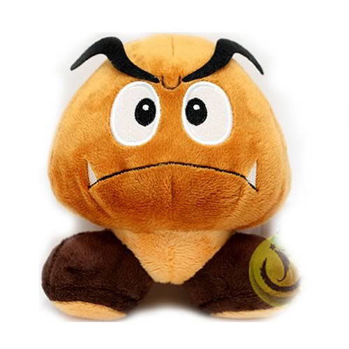 Super Mario Bros. 5-Inch Goomba Plush