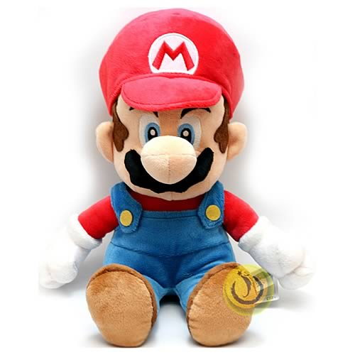 Super Mario Bros. Medium Size Mario Plush Doll