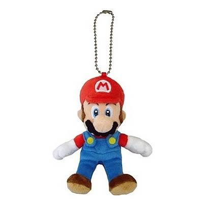Super Mario Bros. Mario Mascot Plush