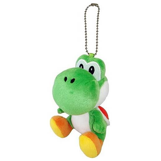 Super Mario Bros. Green Yoshi Mascot Plush