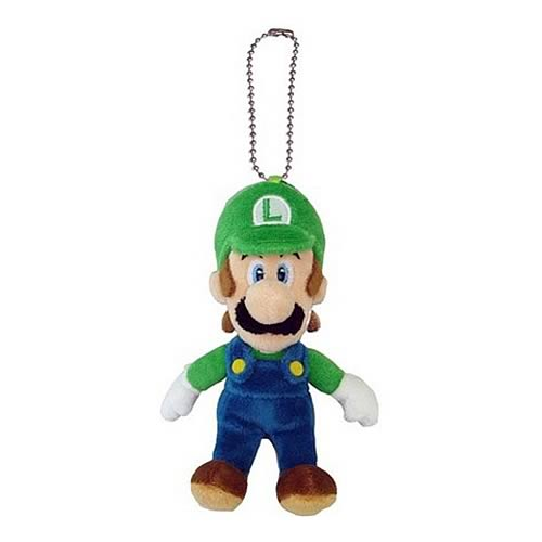 Super Mario Bros. Luigi Mascot Plush