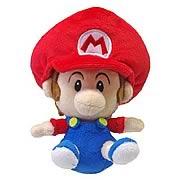 Super Mario Series 3 Baby Mario Plush