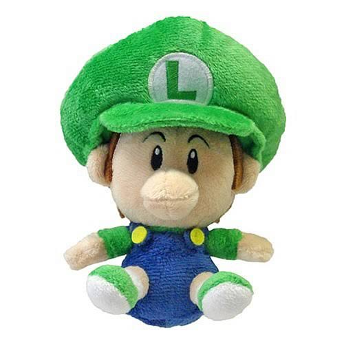 Super Mario Series 3 Baby Luigi Plush