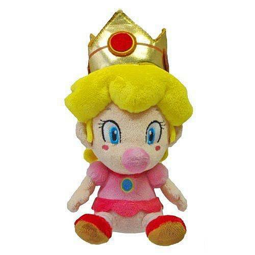 Super Mario 5-Inch Baby Peach Plush