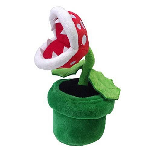 Super Mario 8-Inch Piranha Plant Plush