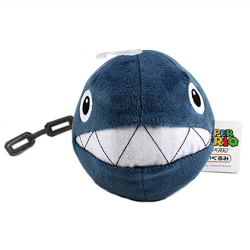 Super Mario 5-Inch Chain Chomp Plush